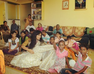 everyone here looked happier n brighter.. they just need little support n love :)
